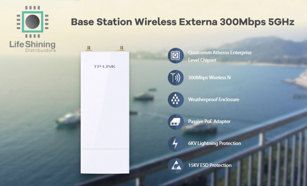 redes wireless externa